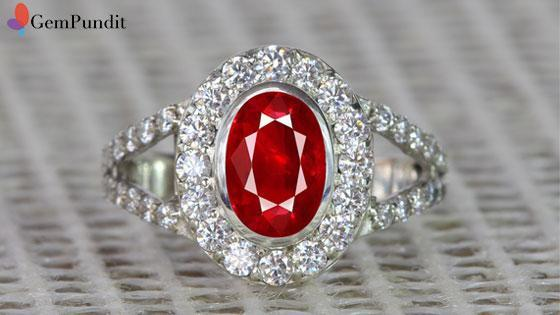Benefits of Wearing Ruby Stone