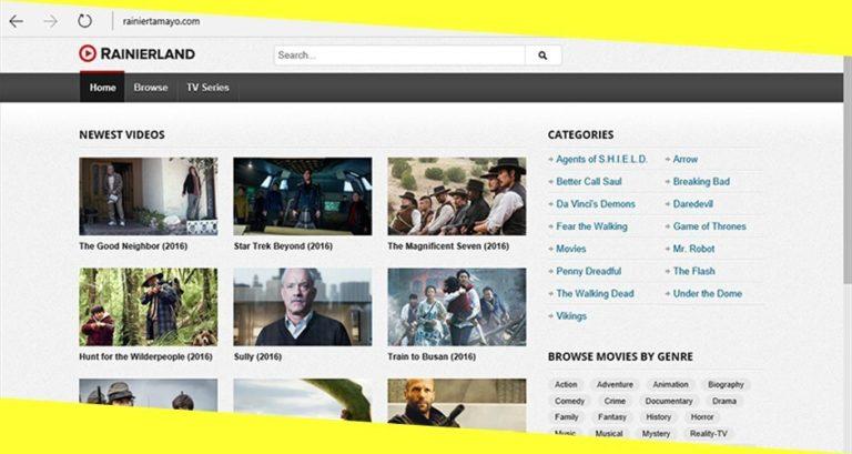 Free Sites like Rainiertamayo to Watch Movies & TV Shows Online