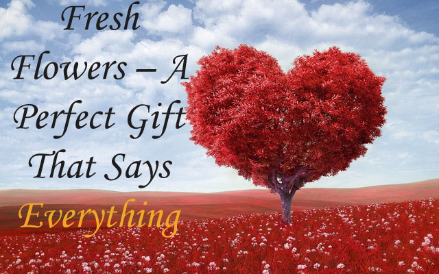 Fresh Flowers – A Perfect Gift That Says Everything