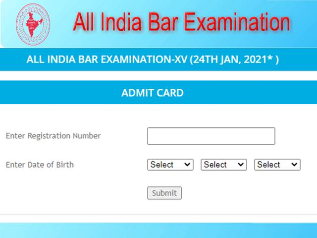 How to Download an AIBE Admit Card?