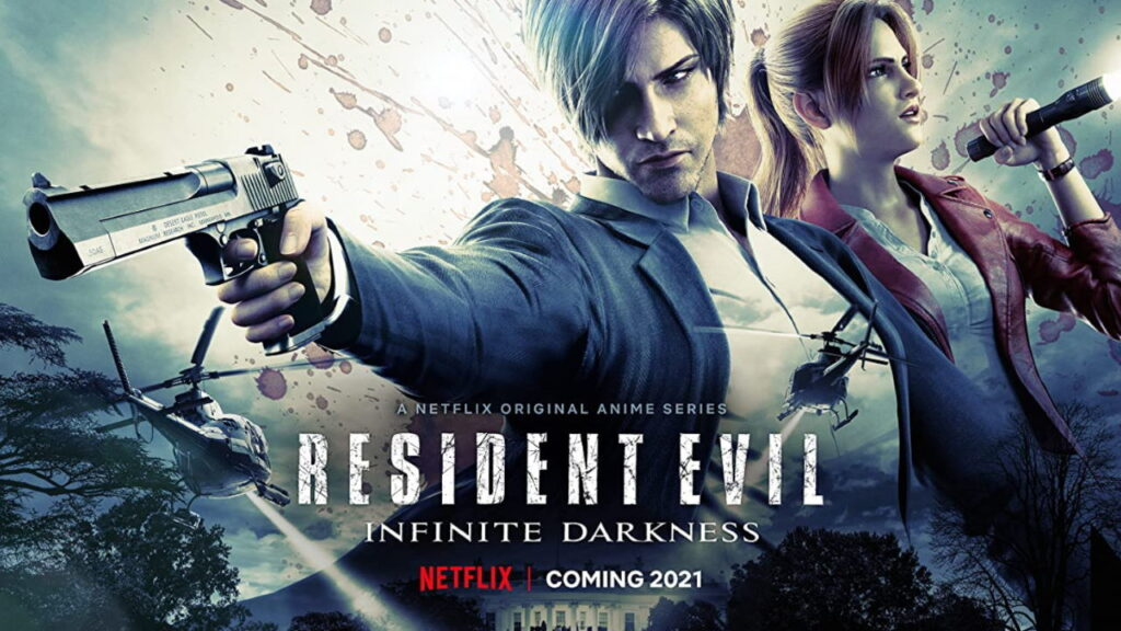 Resident Evil: first first of the infinite darkness on Netflix on July 8th