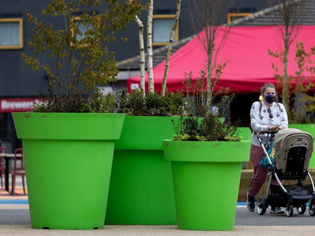 New planters have just gone full Mario Bros on the city in the United Kingdom