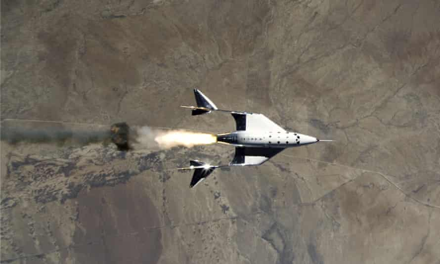 Virgin Galactic launched New Mexico's humans for the first time