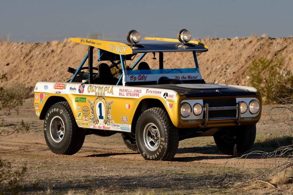 Iconic Big Oly Ford Bronco brings nearly $ 2 million auction