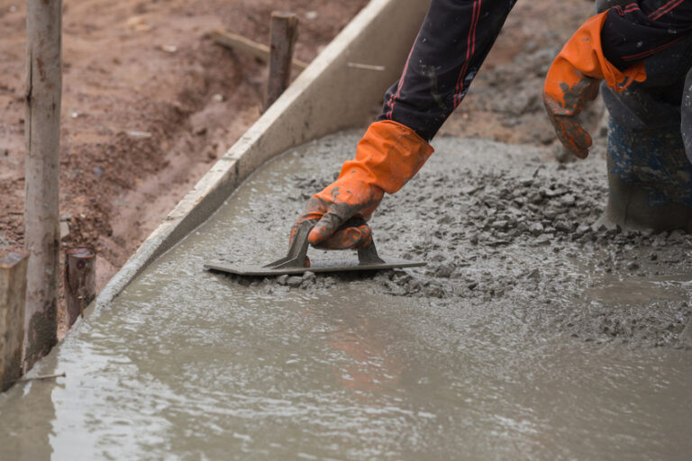 Why is concrete raised important at home?