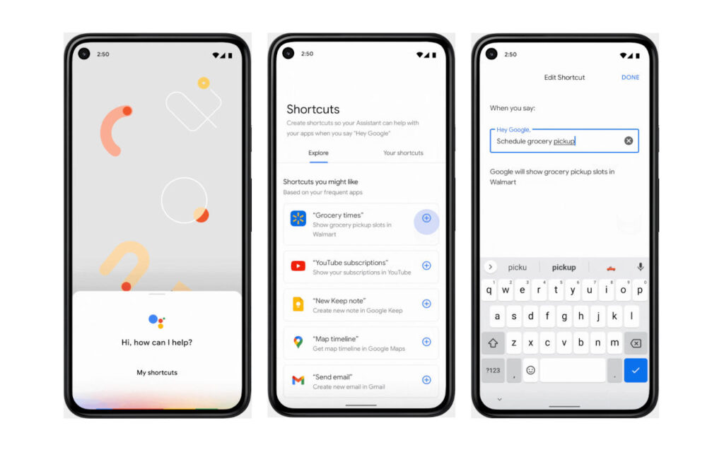 The new capabilities of Google Assistant allow users to jump directly into action