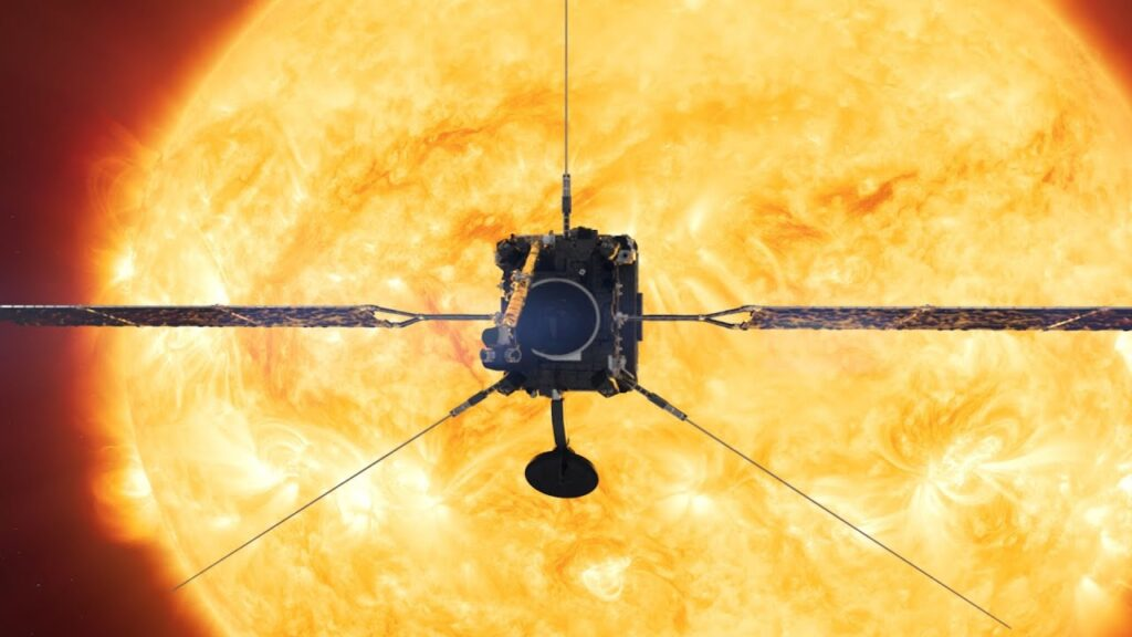Solar Orbitants marks a first unexpected observation for NASA's Sun Imager