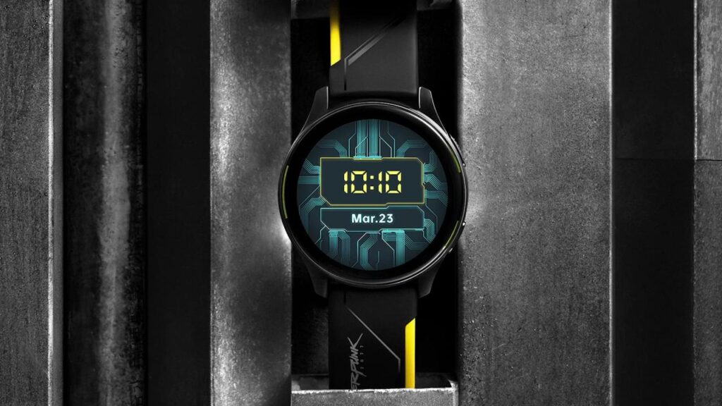 Oneplus watch cyberpunk 2077 edition comes but you can not have it