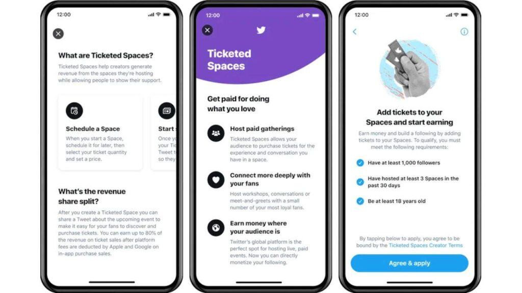 Twitter tickets will have paid users to attend